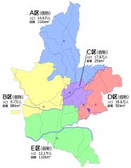 熊本市区割図