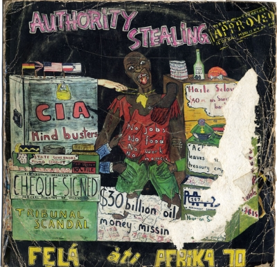 Fela & Africa 70 - Authority Stealing ジャケット