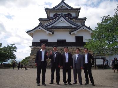彦根城の天守閣