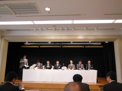 全青連の2012年度臨時総会-2