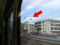 京都の車窓から