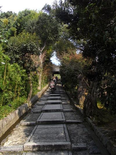高台寺への入り口