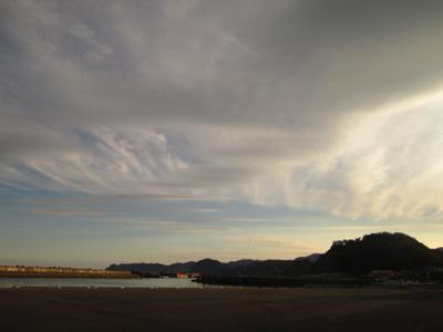 北海道の空だなーって思う