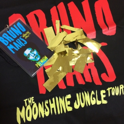 Bruno Mars The Moonshine Jungle Tour Premium Goods