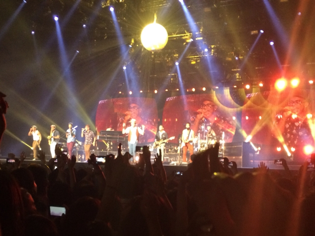Bruno Mars The Moonshine Jungle Tour 幕張メッセ