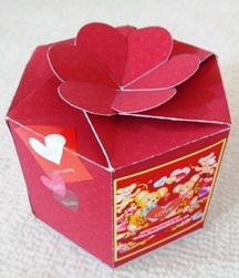 バレンタインギフトボックス