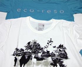 ap bank fes 06 eco-reso Tシャツ