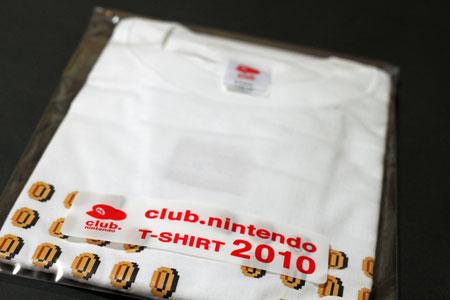 クラブニンテンドーTシャツ 2010