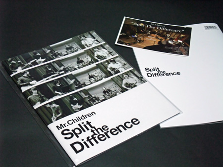 映画 「Mr.Children / Split The Difference」 パンフレット