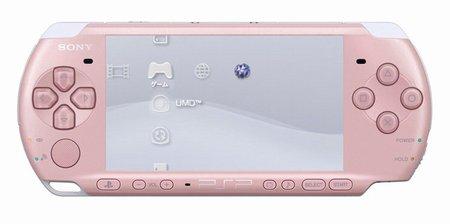 PSP「プレイステーション・ポータブル」 ブロッサム・ピンク(PSP-3000ZP)