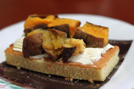 種子島産 安納芋『みつ姫』のケーキ