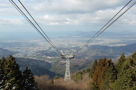 雲辺寺ロープウェイ 山頂駅