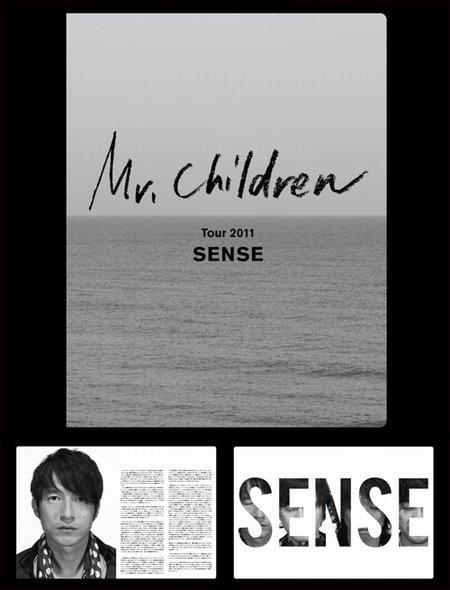 """オフィシャルパンフレット Mr.Children Tour 2011""""SENSE""""オフィシャルグッズ"""