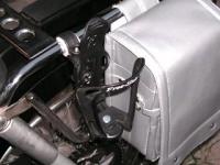 右の銀色のは、ヤフオクでゲットしたミニランドセル。作りはヤワいですが、銀色のサイドバッグはめったにないので気に入ってます