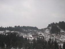雪は少なめだけど、寒々とした風景がヨイ