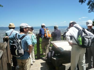 国見展望台より奈良盆地を望む.JPG