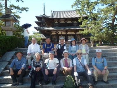 法隆寺にて.JPG