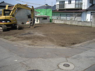 解体が終わった敷地