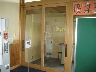改装予定の扉