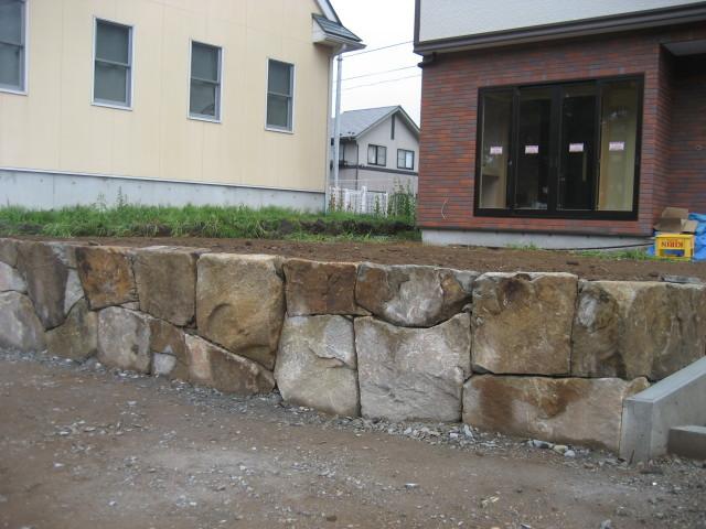 完成した石積み2