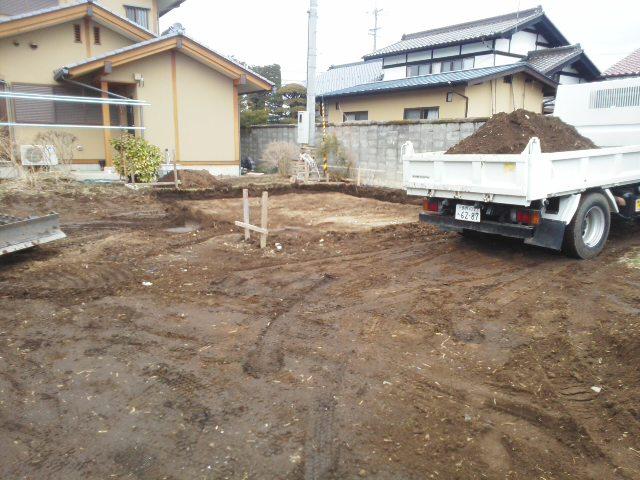 根掘り開始