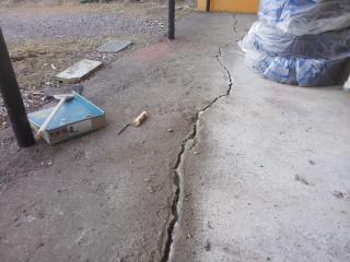 コンクリートひび割れ補修4