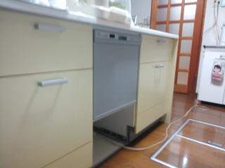 食洗器付きキッチンカウンター1