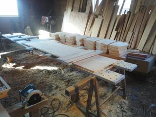 トラス側板加工1