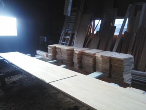 トラス側板加工