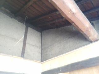 天井を解体後