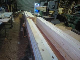 トラス斜材加工