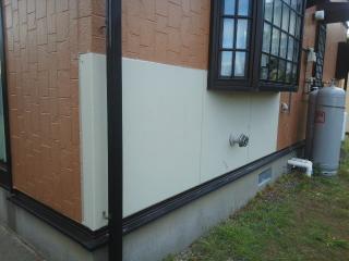 外壁の部分張り替え