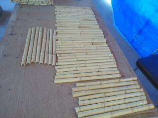 押縁用の竹