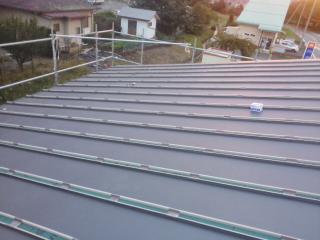 屋根の板金工事