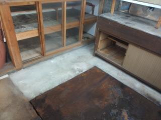 キッチン床改修