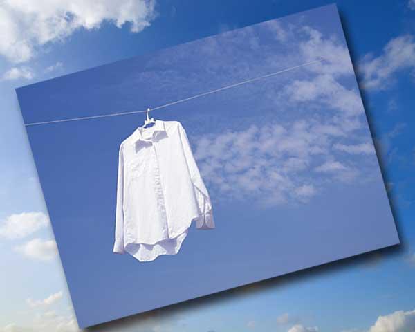 洗濯物を洗って干して乾かして畳むのって面倒くさい