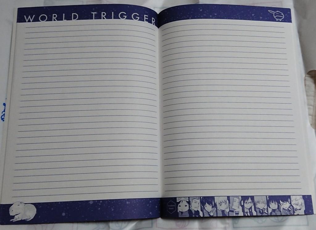 「ワールドトリガーB5ノート」