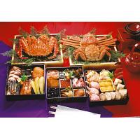 三大かに海鮮おせち「北海華籠膳」