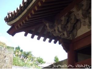 首里城近くの円覚寺の門