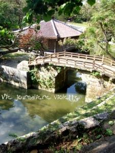首里城内の橋