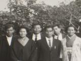 父の還暦祝いに母、父の妹や従兄弟たちと