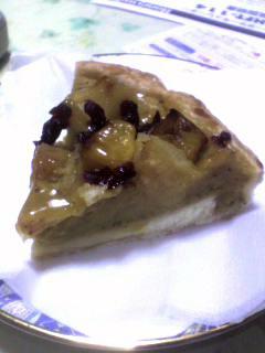 マンゴーとパインの南国フルーツパイ