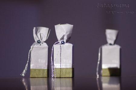 緑茶とよもぎ石けん ラッピング