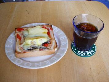 朝食〜^^;・・・ン?えっと〜