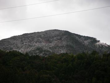 途中の山々は・・・