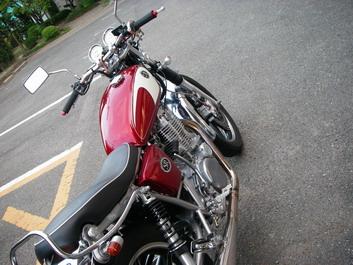 久々のバイク・・・・キックは・・・大丈夫か?