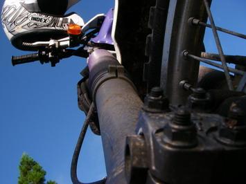 青空とバイク(5)
