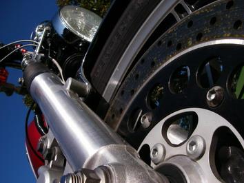 青空とバイク(6)