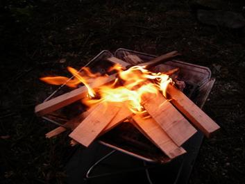 火が・・・ついたよ〜^^