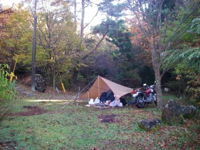 とても落ち着けるキャンプ場でしたv^^v